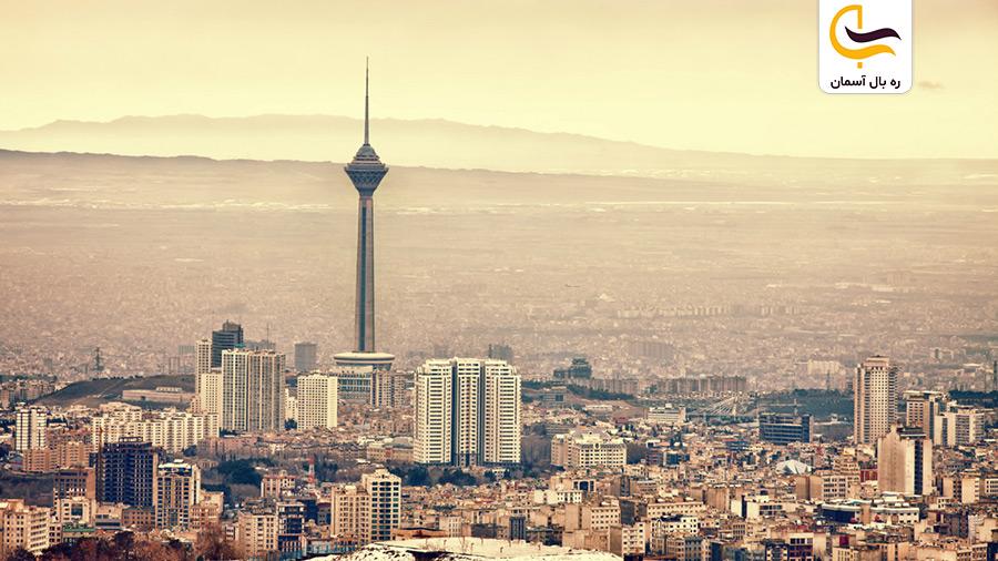نمایی از تهران زیبا