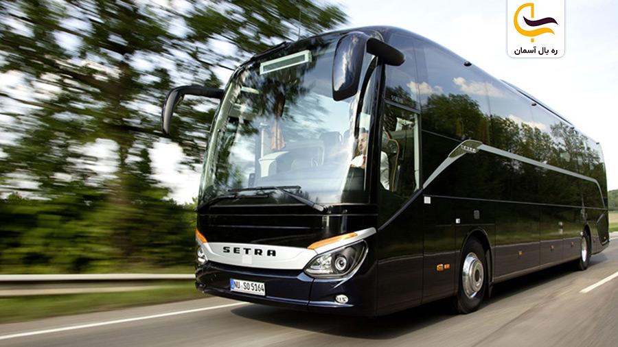 تأثیر مسافت روی قیمت بلیط اتوبوس