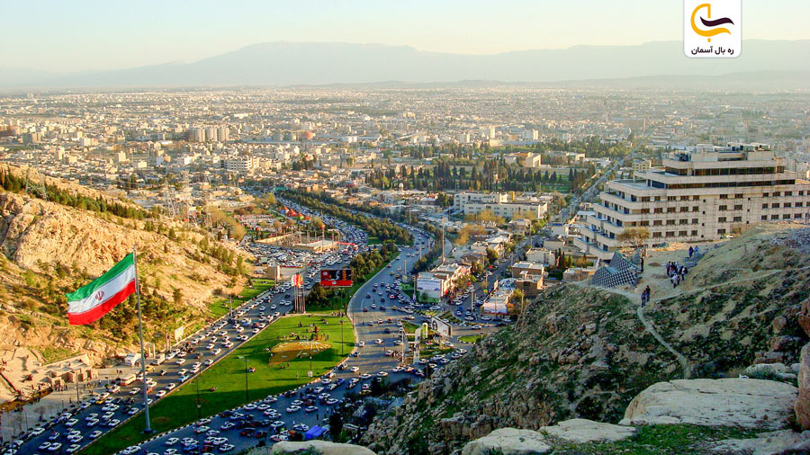 نمایی از شیراز زیبا